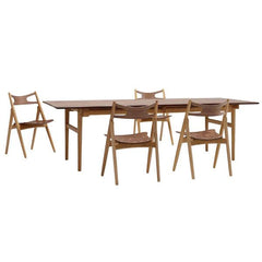 Wegner CH29T Sawbuck Chair - All Wood