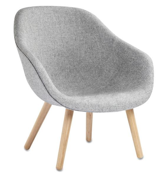 hay about a lounge chair: aal82 by hee welling & hay - danish
