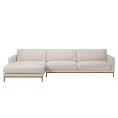 North 4 Seater Sofa with Chaise Longue Left