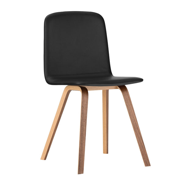 Palm Dining Chair - Wood Legs, Fully Upholstered