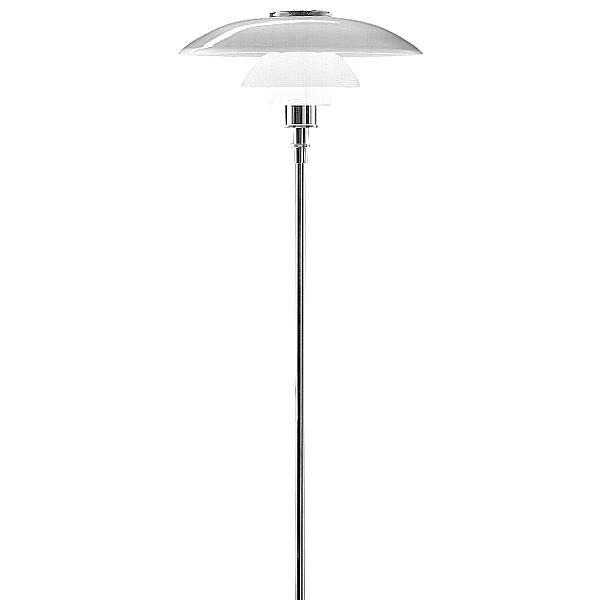 PH 4.5/3.5 Glass Floor Lamp