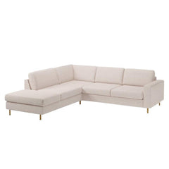 Scandinavia 4 Seater Corner Sofa with Open End