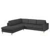 Scandinavia 4 Seater Corner Sofa w/ Open End