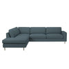 Scandinavia 5 Seater Corner Sofa with Open End