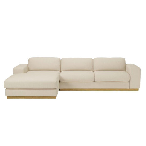 Sepia 3 Seater Sofa w/ Chaise Longue