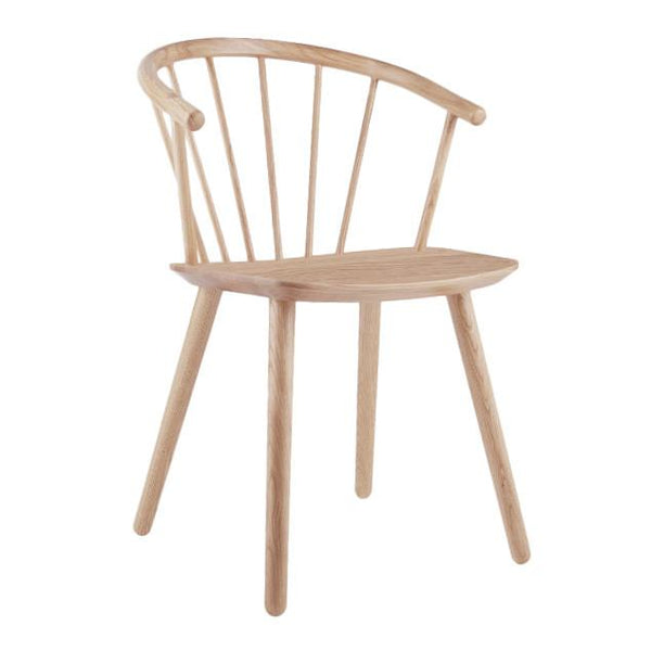 Sleek Low Back Dining Chair