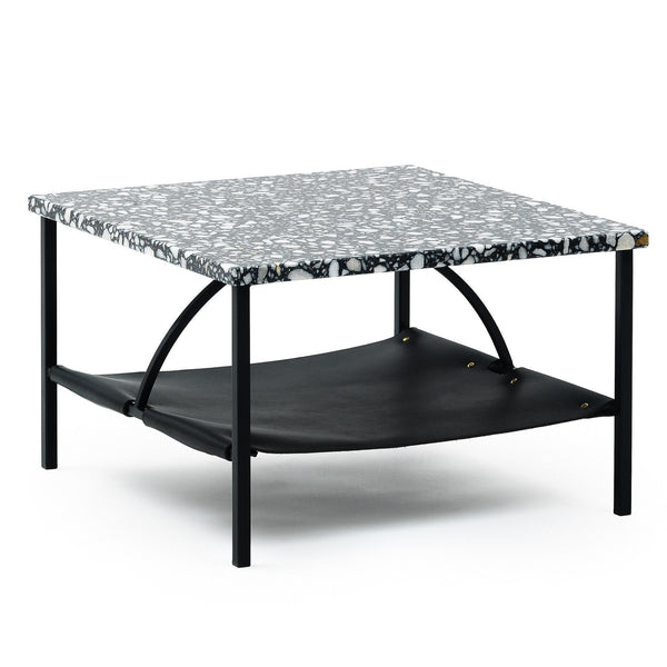 Tabula Coffee Table - Black Terrazzo / Square - Showroom