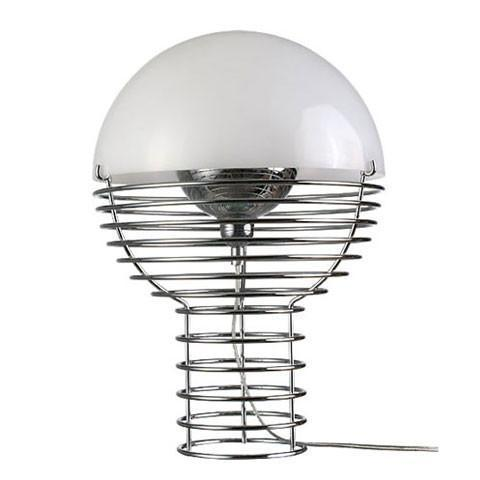 Wire Small Table Lamp