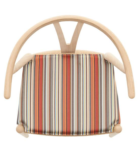Wegner CH24 Wishbone Seat Cushion - Paul Smith Edition