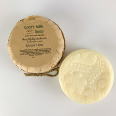Ginger Lime Goat's Milk Soap