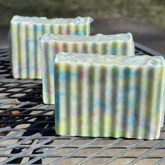 Pastel Swirls Goat's Milk Soap Bar