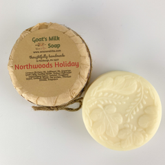 Northwoods Holiday Goat's Milk Soap