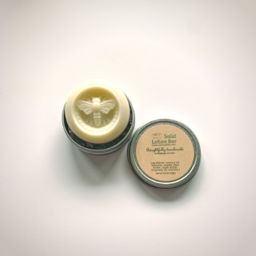 Lemon Orange Blossom Solid Lotion Bar