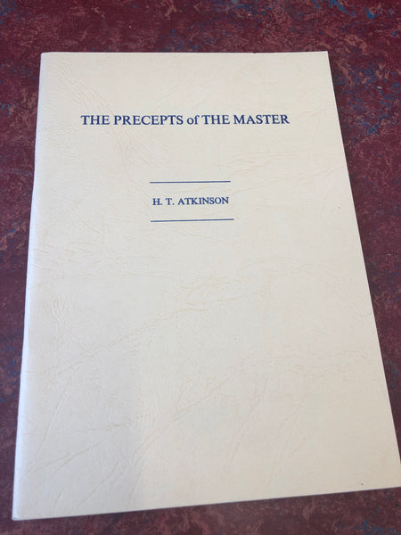 The Precepts of the Master