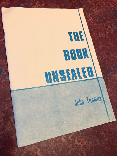 The Book Unsealed