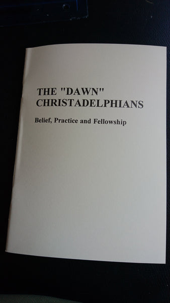 Belief, Practice and Fellowship