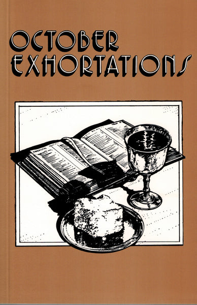 October Exhortations