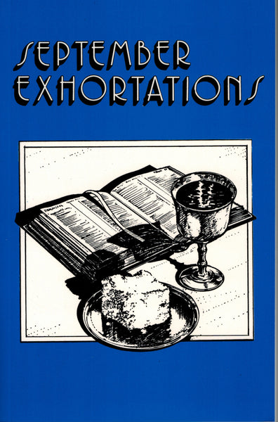 September Exhortations - .pdf edition