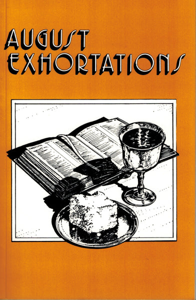 August Exhortations - .pdf edition
