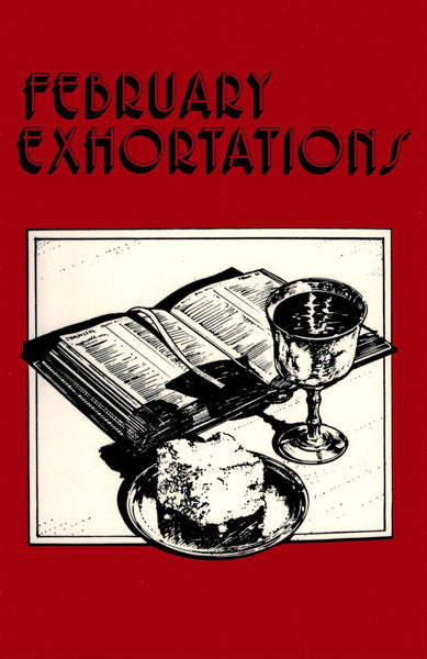 February Exhortations