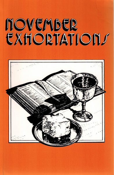 November Exhortations - .pdf edition