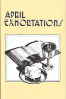 April Exhortations - .pdf edition