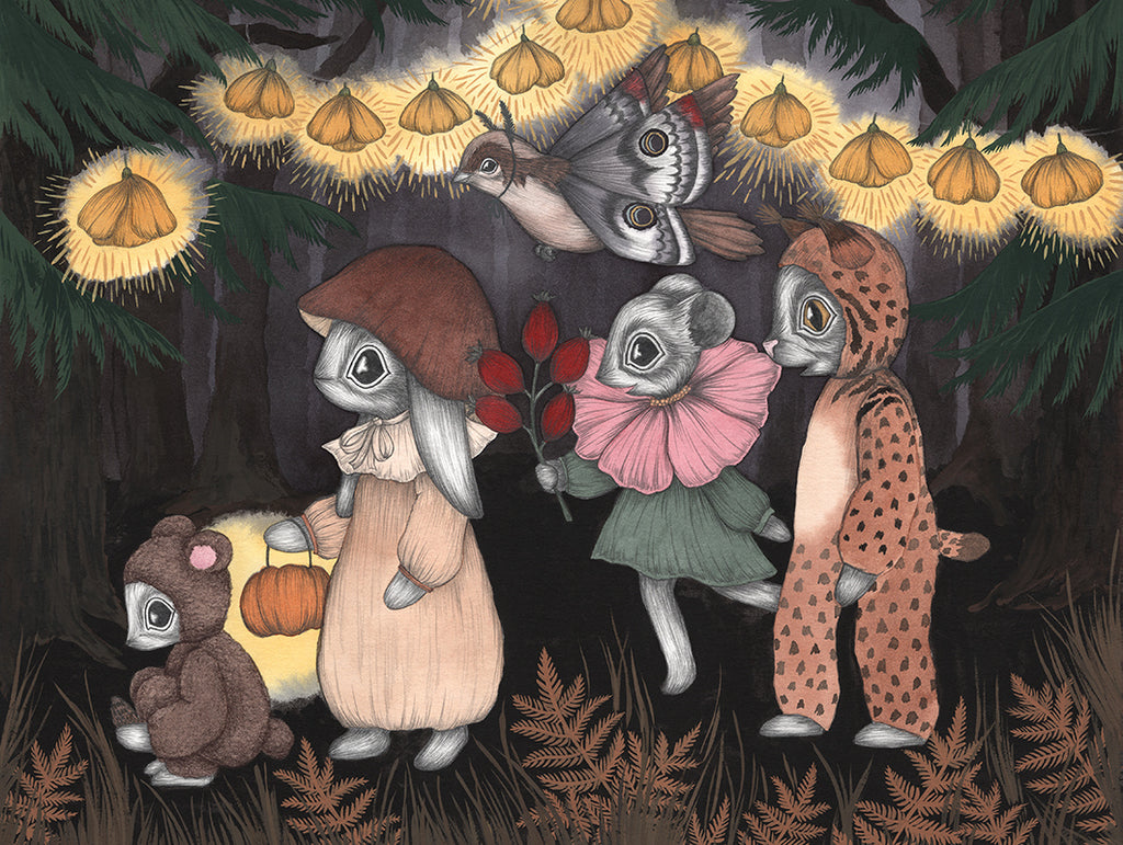 The Forest Animals Art Print