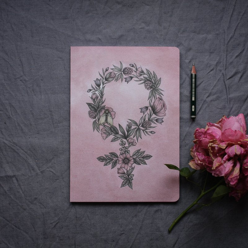 FLORAL FEMINIST, Notebook