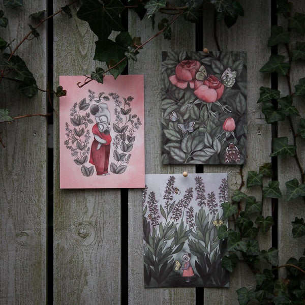 THE SECRET GARDEN, Set of 3