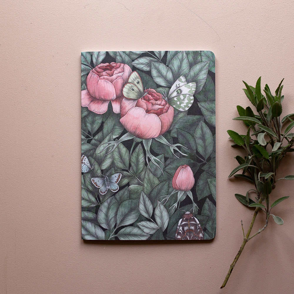 AMONGST THE ROSES, Notebook