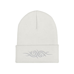 Boho Beanie in White - Harper Ashton Designs