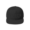 Cipher Snapback in Black by Harper Ashton Designs