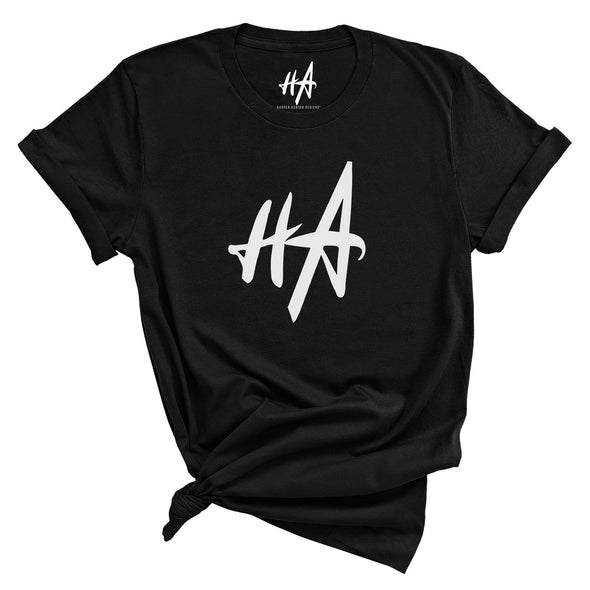 HA Logo Tee in Black by Harper Ashton Designs