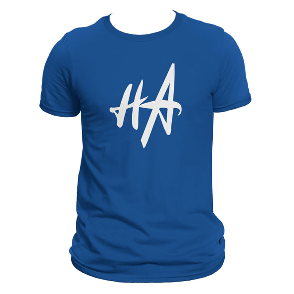 HA Logo Tee in True Royal by Harper Ashton Designs
