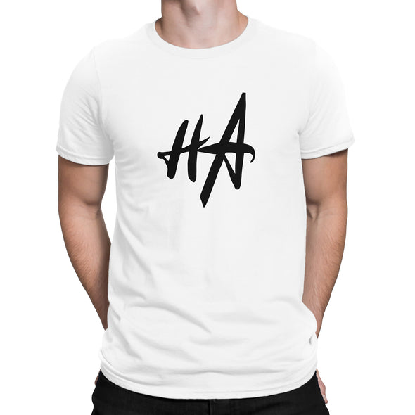 HA Logo Tee in White by Harper Ashton Designs
