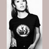 Muse Siren Womens Fashion Fit Graphic Tee in Black by Harper Ashton Designs