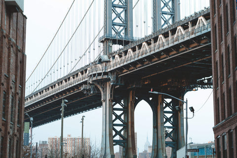 View of Manhattan Bridge from DUMBO