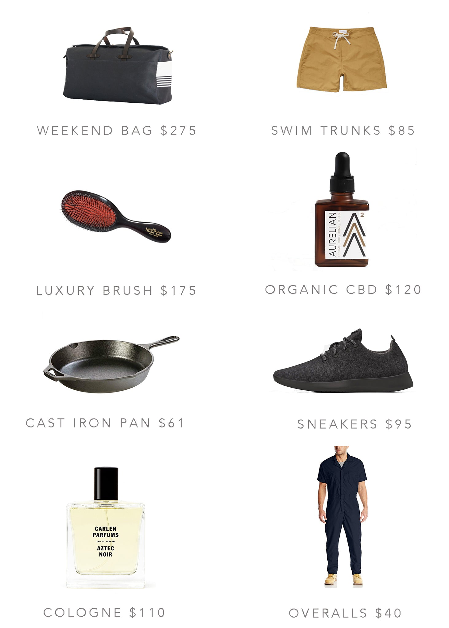 Aurelian Father's Day Gift guide products
