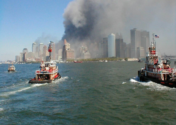 9/11 water rescue boats