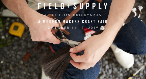 Field + Supply October 2019 poster