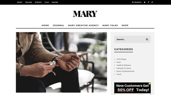 Mary Magazine with Aurelian CBD founder Nick Hoge