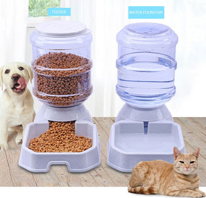 Automatic Drinking/Feeding Bowl, , CatSaviours, CatSaviours