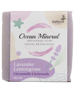 Lavender Lemongrass - Ocean Mineral Infused Soap