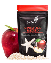 Load image into Gallery viewer, Applewood Smoked Sea Salt 45g