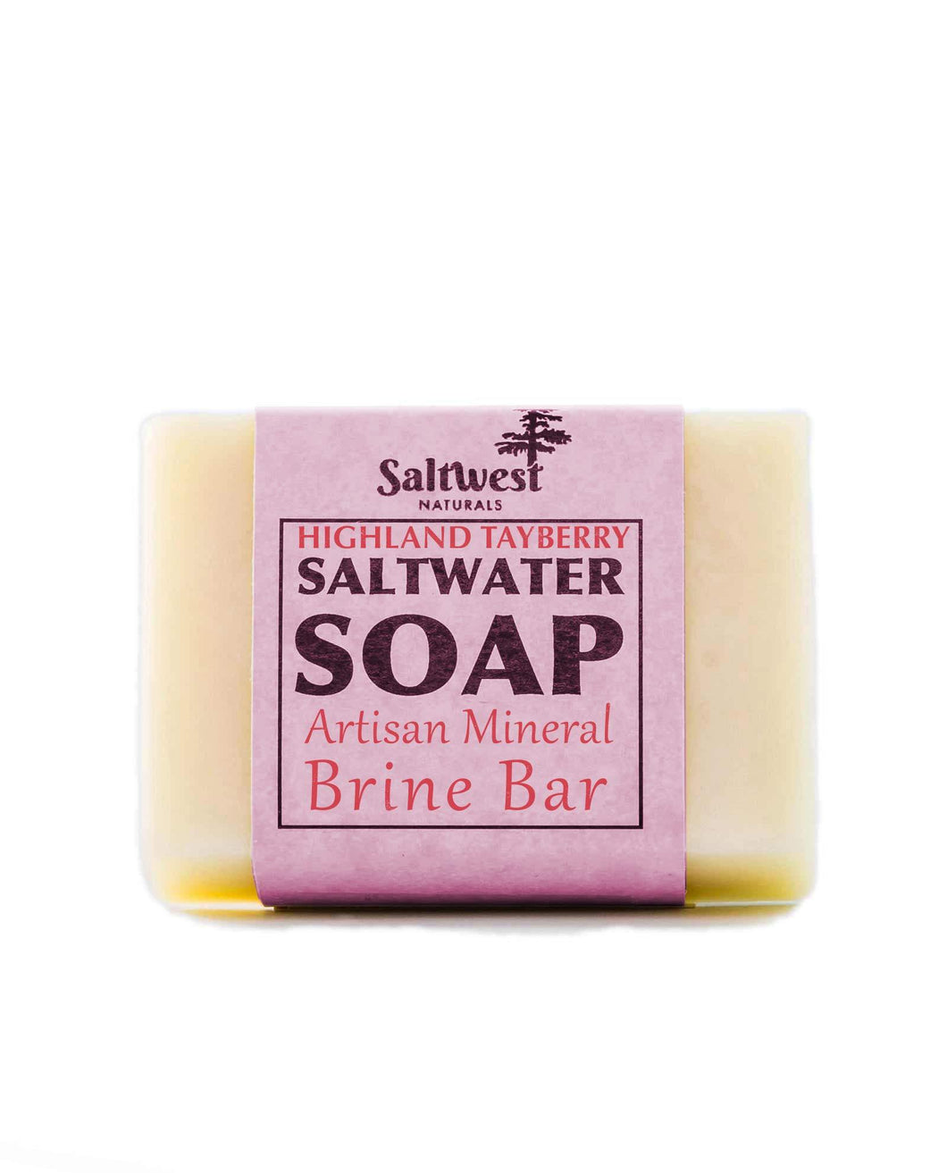 Highland Tayberry Sea Mineral Soap