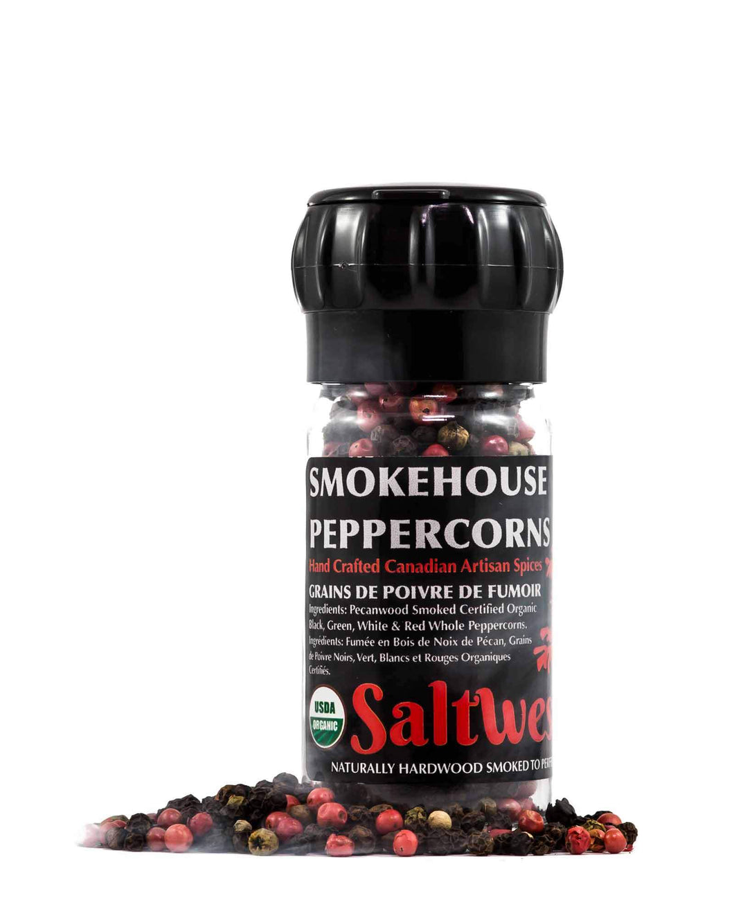 SmokeHouse Peppercorns Grinder 50g