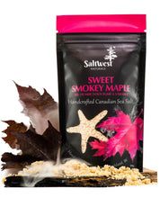 Load image into Gallery viewer, Sweet Smokey Maple Sea Salts