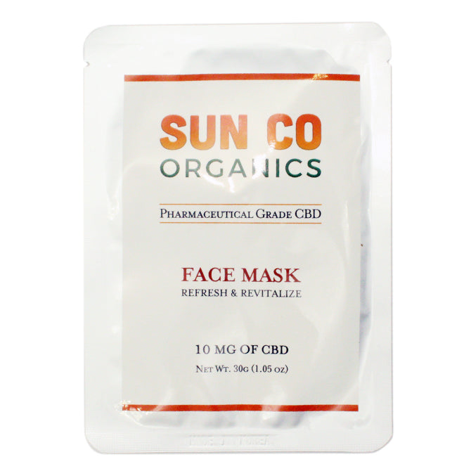 Full Spectrum CBD Face Mask