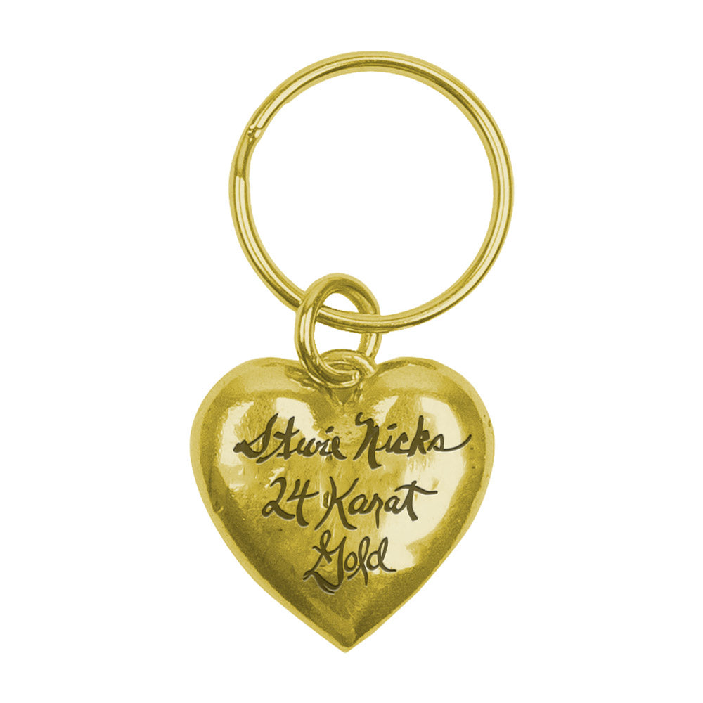 Stevie Nicks 24 Karat Gold Keychain