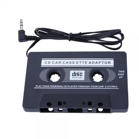 Car Cassette Tape Adapter for MP3/iPod/Nano/CD/IPhone Black